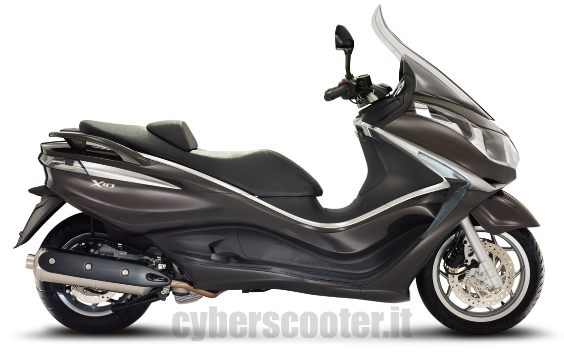 cyberscooter modelli piaggio x10 500 executive. Black Bedroom Furniture Sets. Home Design Ideas